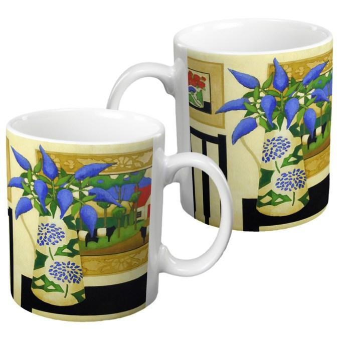Buddleia Ceramic Gift Mug by Fiona Millar