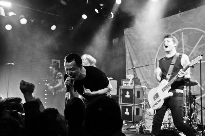 Touche Amore @ Slim's 2/12/14 - photo by Nicole L. Browner