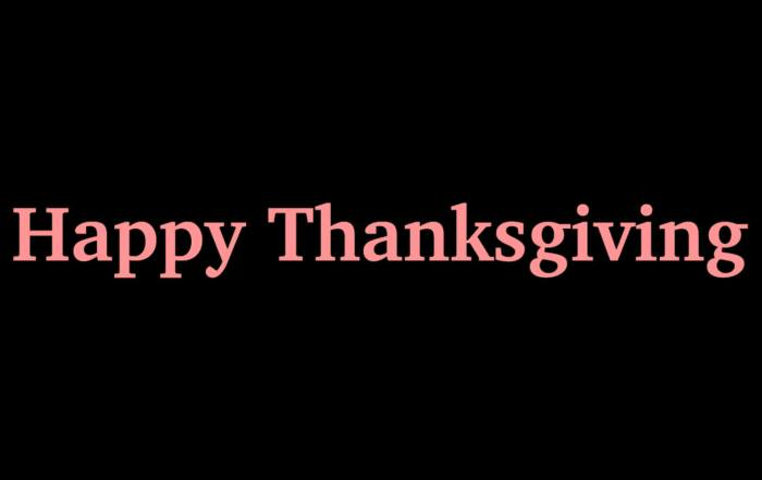 Happy Thanksgiving! Don't forget: Our Giving Tuesday event is fast approaching