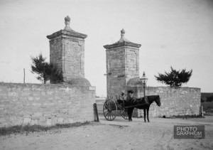 The Old City Gate -Saint Augustine Florida 1894.Photo by William Henry Jackson