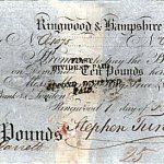 1821Banknote 10 Pounds