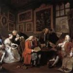 The Marriage Settlement by Hogarth