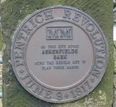 Pentrich Rebellion memorial