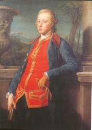 Portrait of the 5th Duke of Devonshire