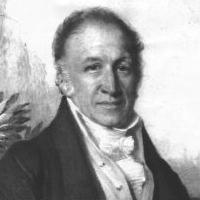 Bust portrait of Richard Sharp