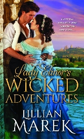 Cover of Lady Elinor's Wicked Adventure's by Lillian Marek