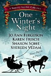 Cover for One Winter's Night by Shereen Vedam, Jo Ann Ferguson, Karen Frisch, and Sharon Sobel