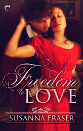 Cover for Freedom to Love by Susanna Fraser