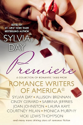 Cover for Romance Writers of America's PREMIERE anthology