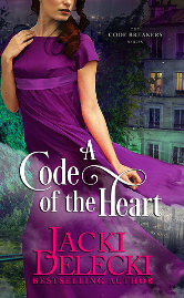 Cover for Jacki Delecki's A CODE OF THE HEART