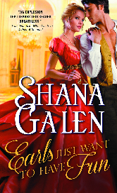 Cover image for EARLS JUST WANT TO HAVE FUN by Shana Galen