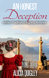 Cover image for Alicia Quigley's An Honest Deception