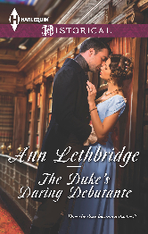Cover image for Ann Lethbridge's The Duke's Daring Debutante