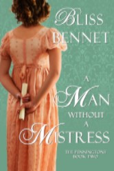 Cover image for Bliss Bennet's A Man without a Mistress