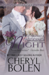 Cover image for OH WHAT A (WEDDING) NIGHT by Cheryl Bolen
