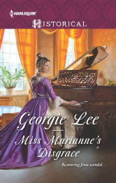 Cover image for MISS MARIANNE'S DISGRACE by Georgie Lee