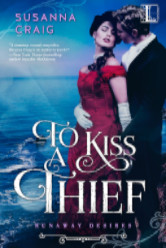Cover image for TO KISS A THIEF by Susanna Craig