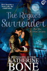 Cover image for THE ROGUE'S SURRENDER by Katherine Bone