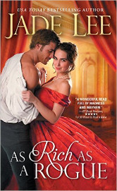 Cover image for AS RICH AS A ROGUE by Jade Lee