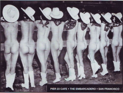 Sally Rand Girls at Pier 23 Cafe