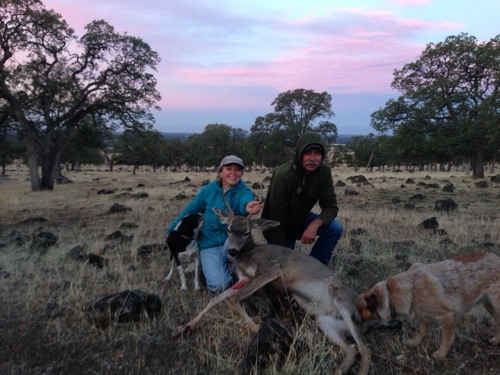 YAY! After years of supplying the local deer population with tomatoes and other fresh veggies, they are supply me with meat! Plus it was a lot of fun to spend time with my family, learn about the ranch and take some neat pictures share.