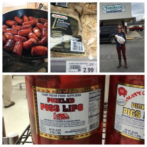 Conecuh sausages are amazing! Try them!