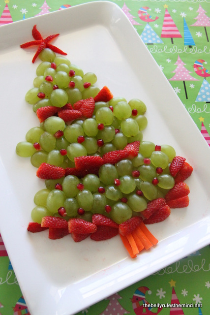 Christmas Fruit Platter