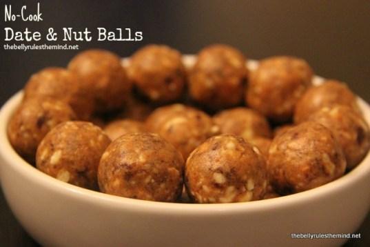 No-Cook Date & Nut Balls