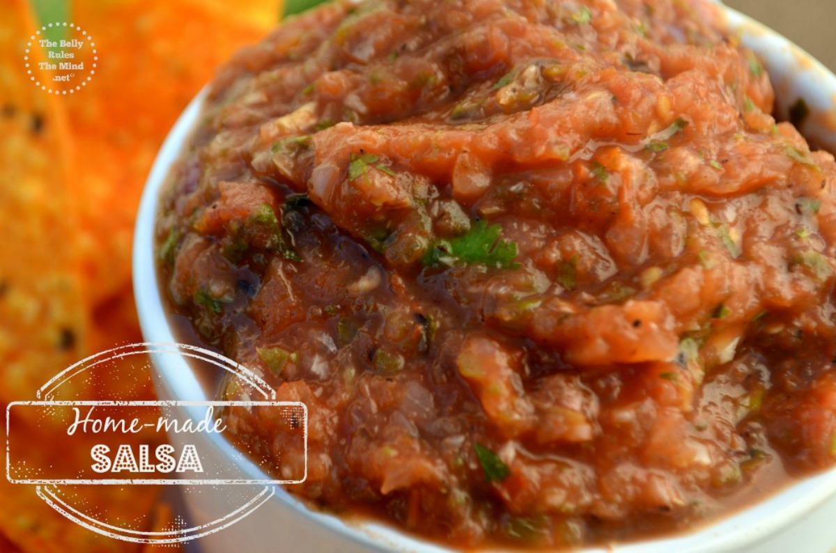home-made salsa