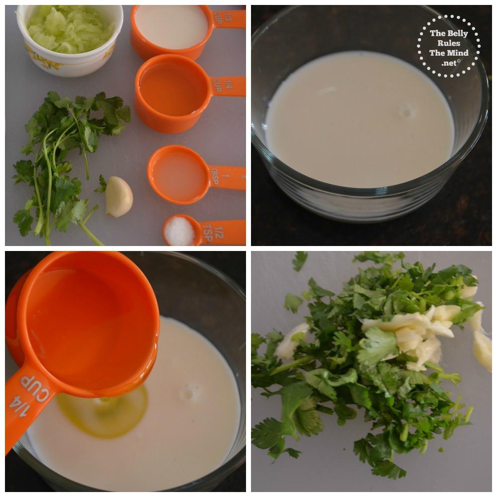 eggless cucumber mayo