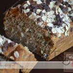 Healthy  Banana Bread with Oats
