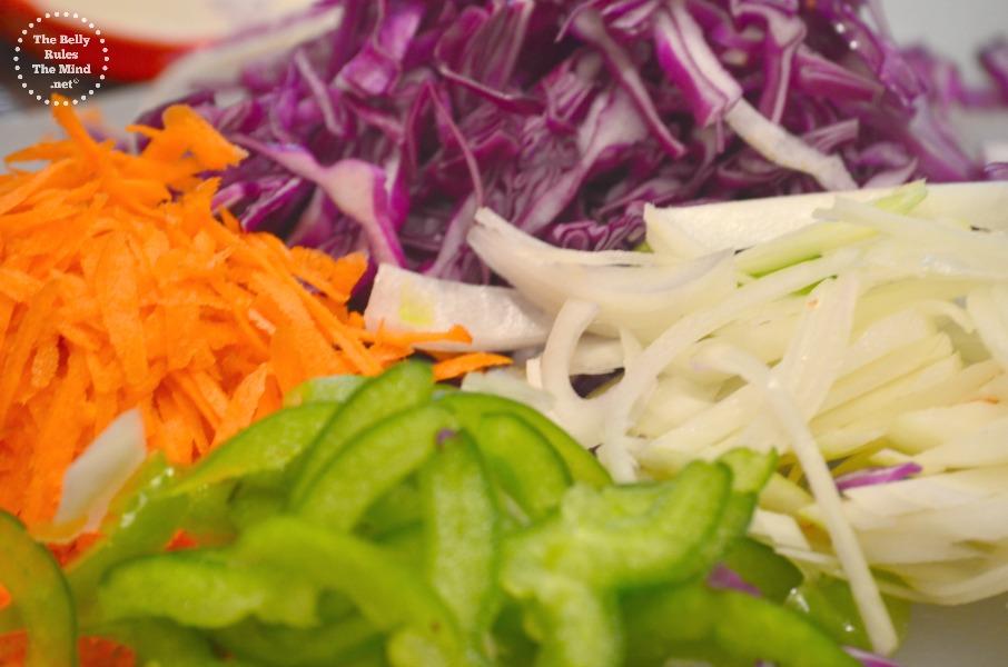 Veggies for Noodles