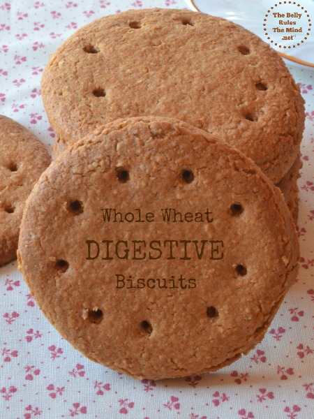 Home-made Digestive Biscuits