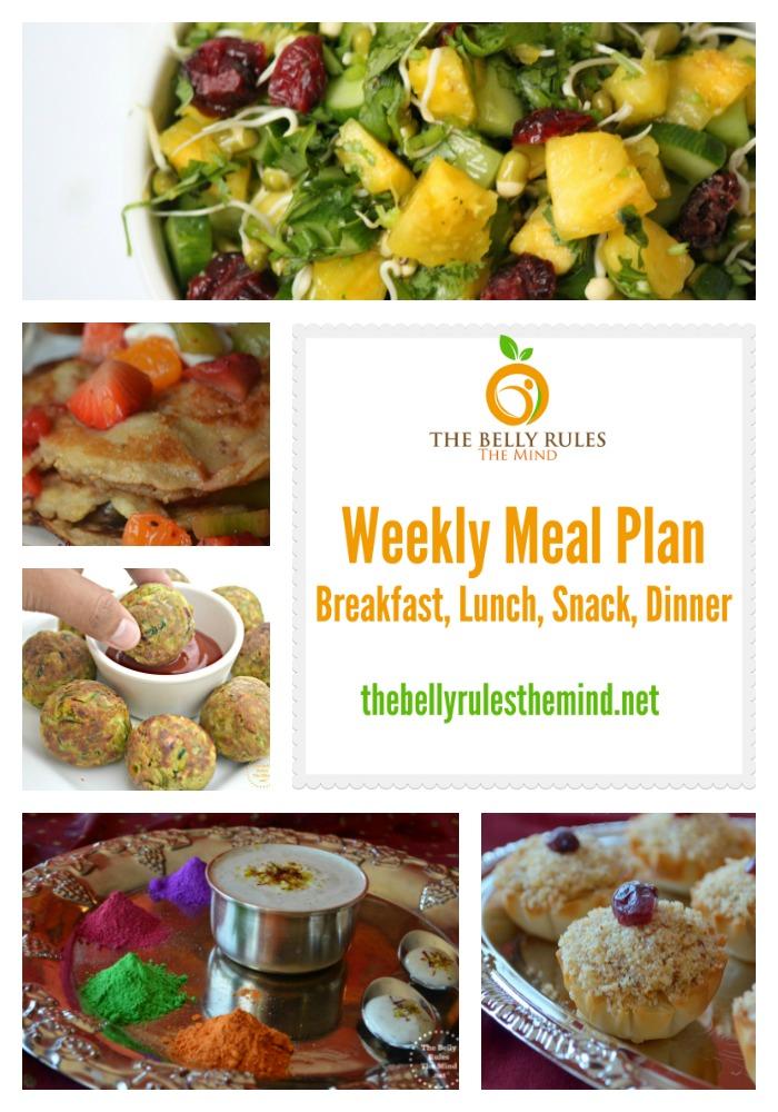 Meal Plan Mar 21 to Mar 27 Pin