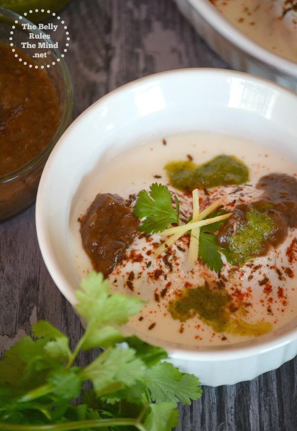 dahi vade made in appe pan