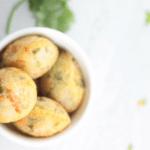No Fry Sooji Appe / Savory Semolina Pancake Puffs