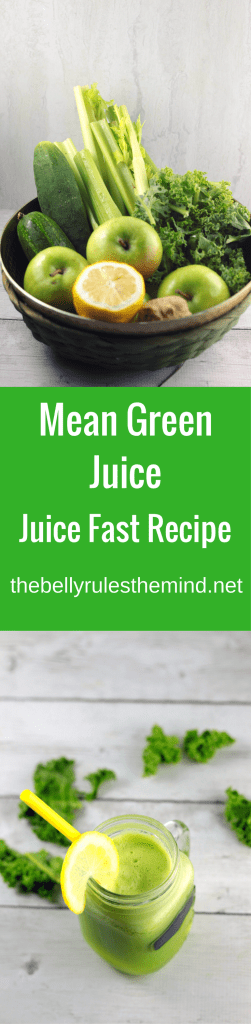 joe cross's mean green juice reciipe