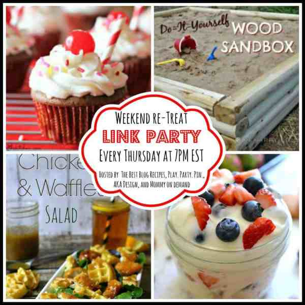 The Weekend re-Treat Link Party on The Best Blog Recipes!  Party runs 6/19 - 6/22