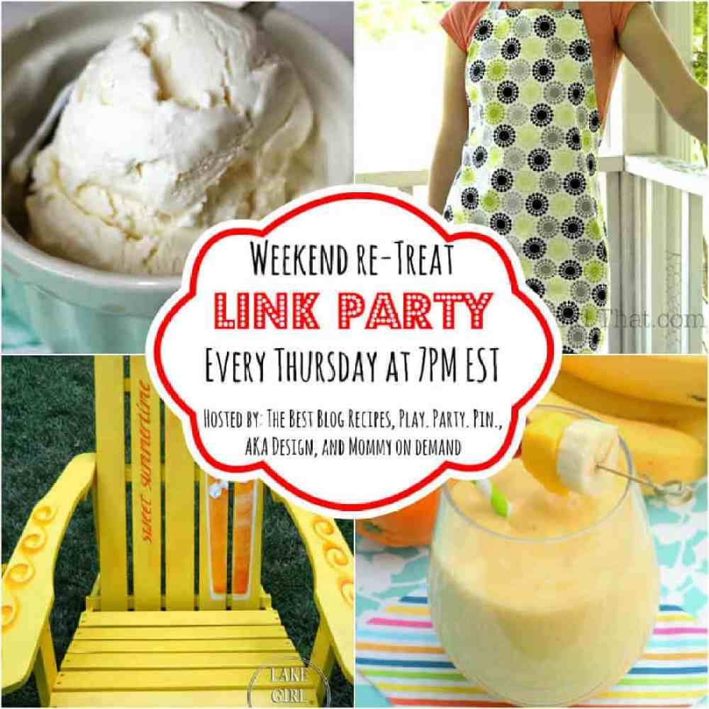 The Weekend re-Treat Link Party #75 | thebestblogrecipes.com Party ends 7/13 11:59pm MST