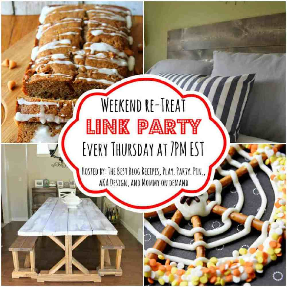 The Weekend re-Treat Link Party #87