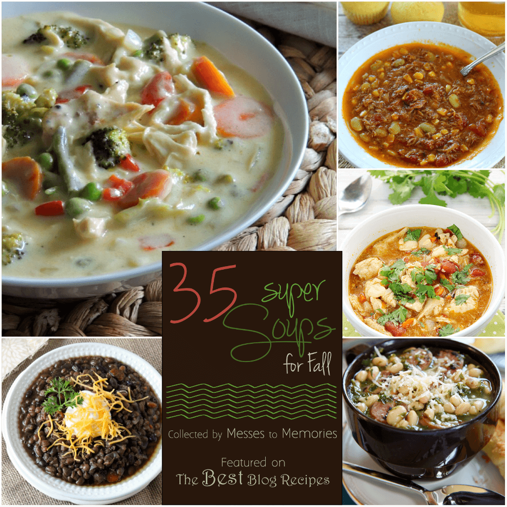 35 Super Soups for Fall