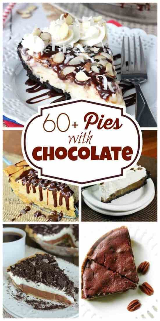 chocolate-pie-collage