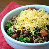 Medifast Lean and Green Recipes: Broccoli Taco Bowl