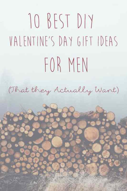 Best DIY Gifts for Men featured on 25 Valentine's Day Crafts from The Best Blog Recipes