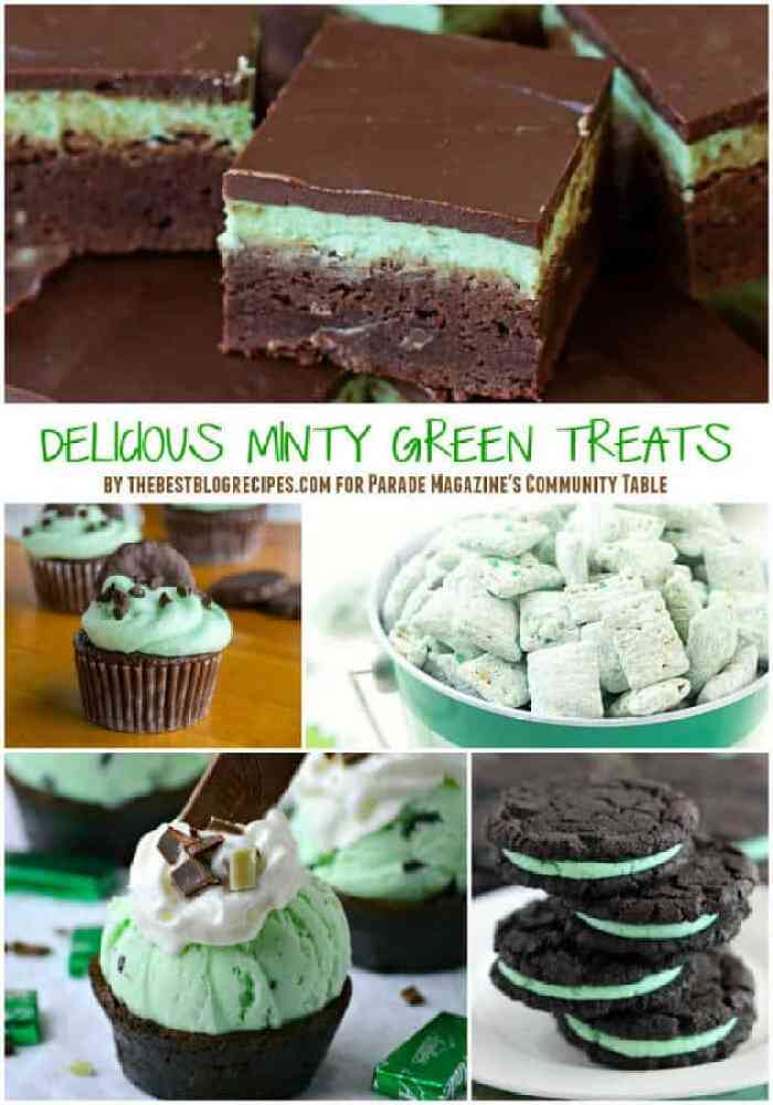 14 Delicious Minty Green Treats
