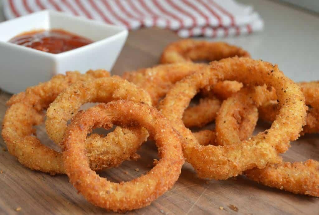 Homemade Extra Crispy Onion Rings - The Best Blog Recipes