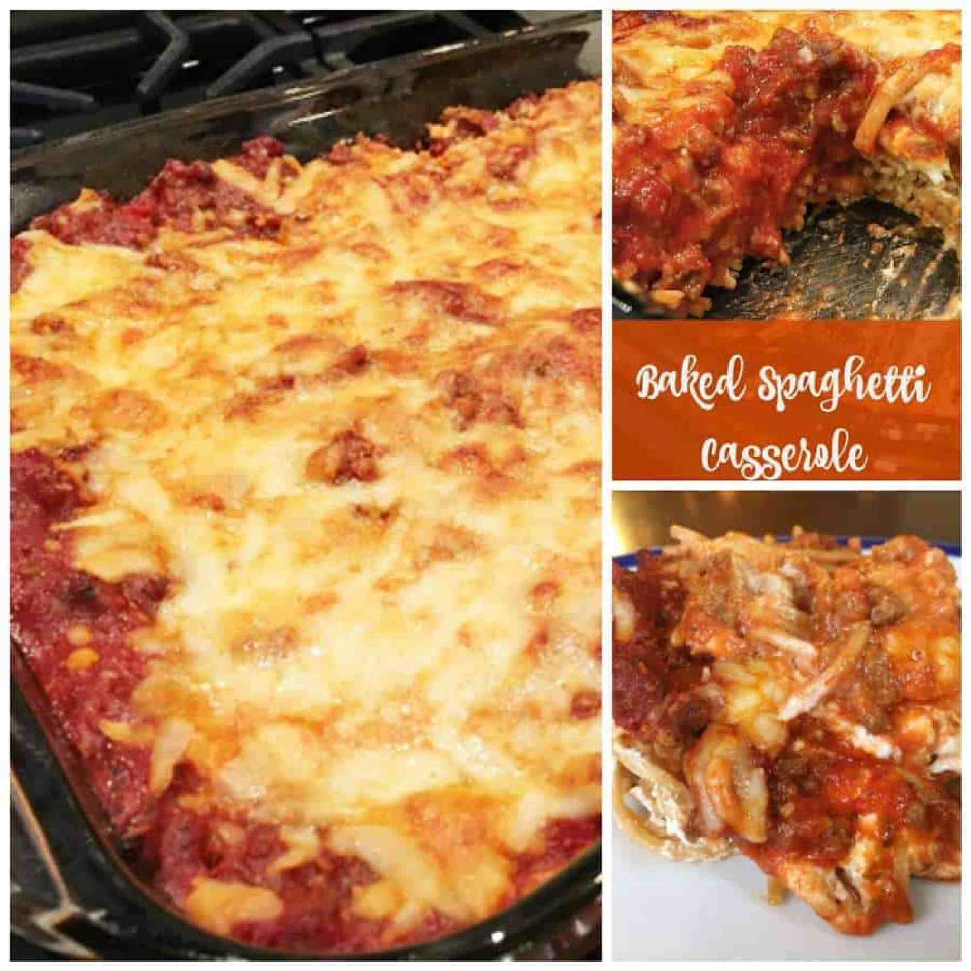 Baked Spaghetti Casserole - The Best Blog Recipes