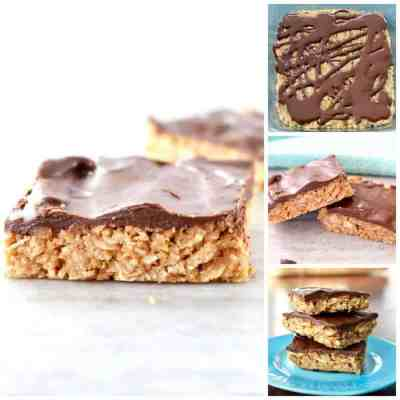 Chocolate Peanut Butter Coconut Bars