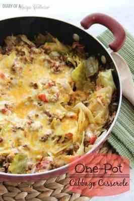 One Pot Cabbage Casserole