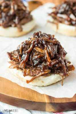 Slow Cooker Honey Balsamic Pulled Pork